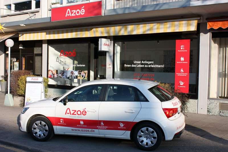 Azaé Karlsruhe für Sie im Einsatz