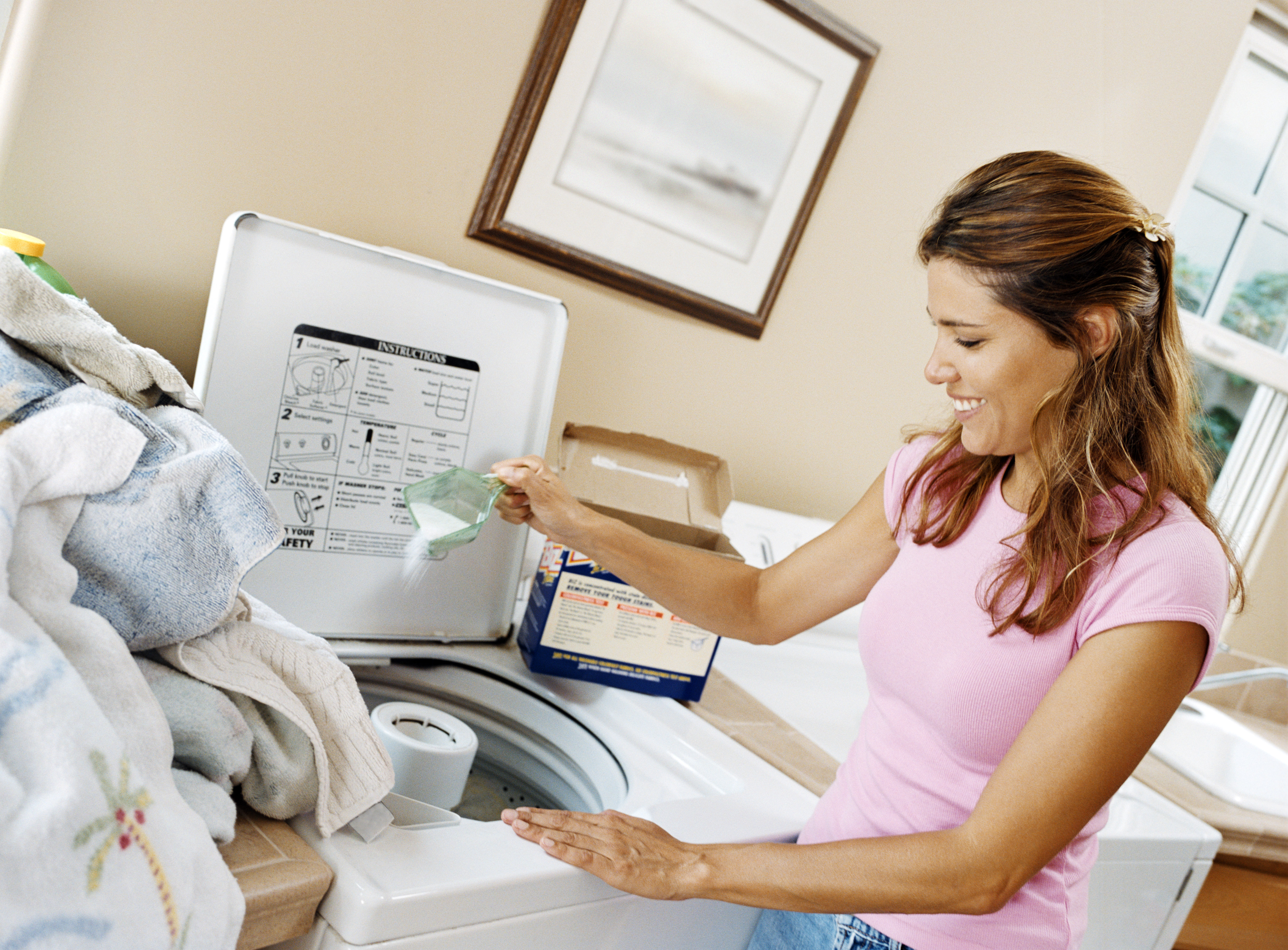 Azaé Haushaltstipp Wie reinigt man die Waschmaschine?