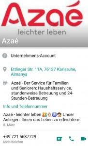 Azaé Whatsapp Service